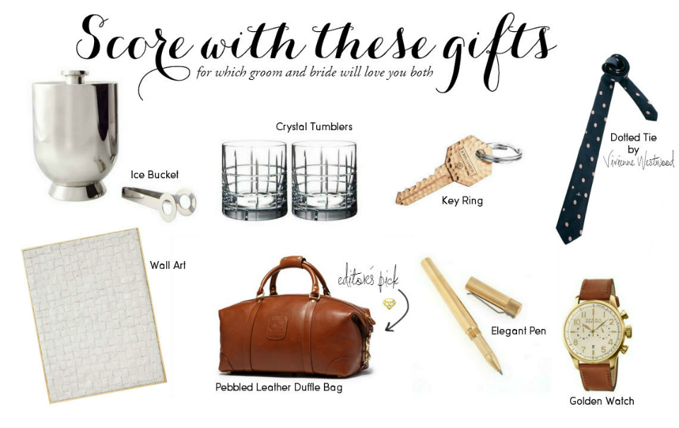 Wedding Gift Guide : Wedding Gift Guide: For The GroomThe Daily Dose