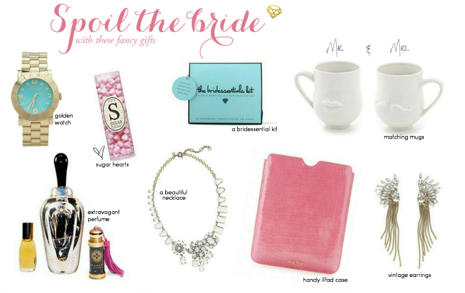 Wedding Gift Guide : Wedding Gift Guide: For The Bride The Daily Dose