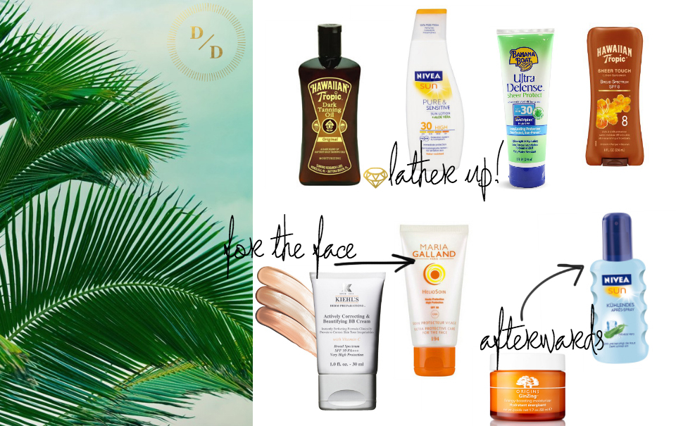 Sun kissed products