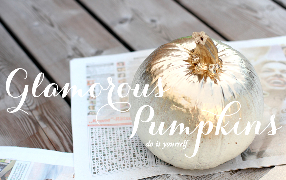 Do It Yourself: Glamorous Pumpkins | The Daily Dose - photo#43