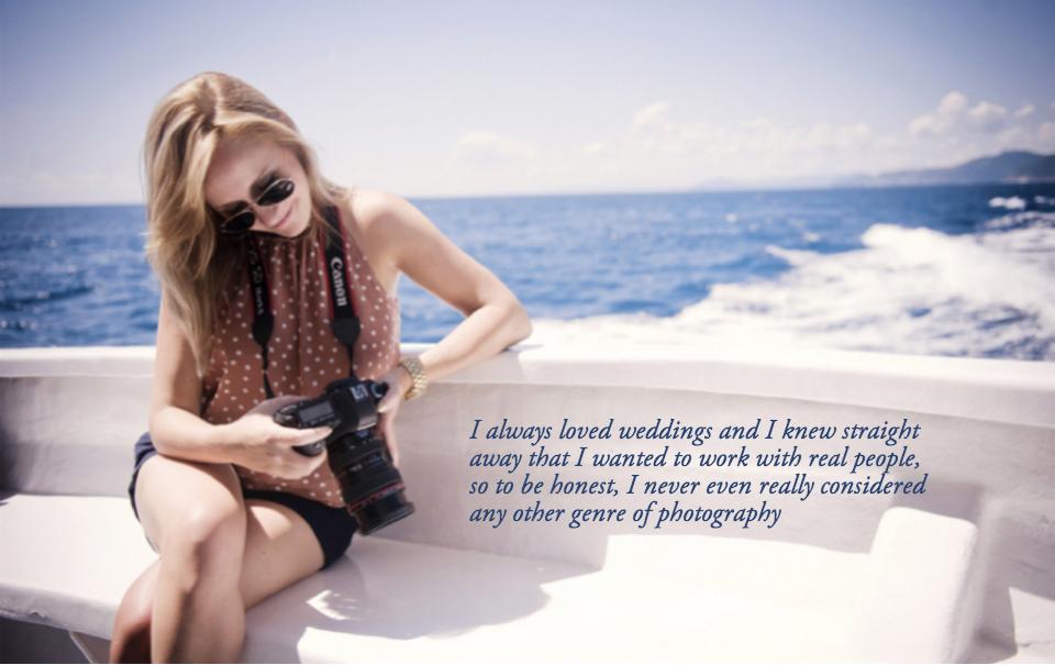 Wedding Photography Career: Job Report: Gabby, Wedding Photographer Living Her Dreams