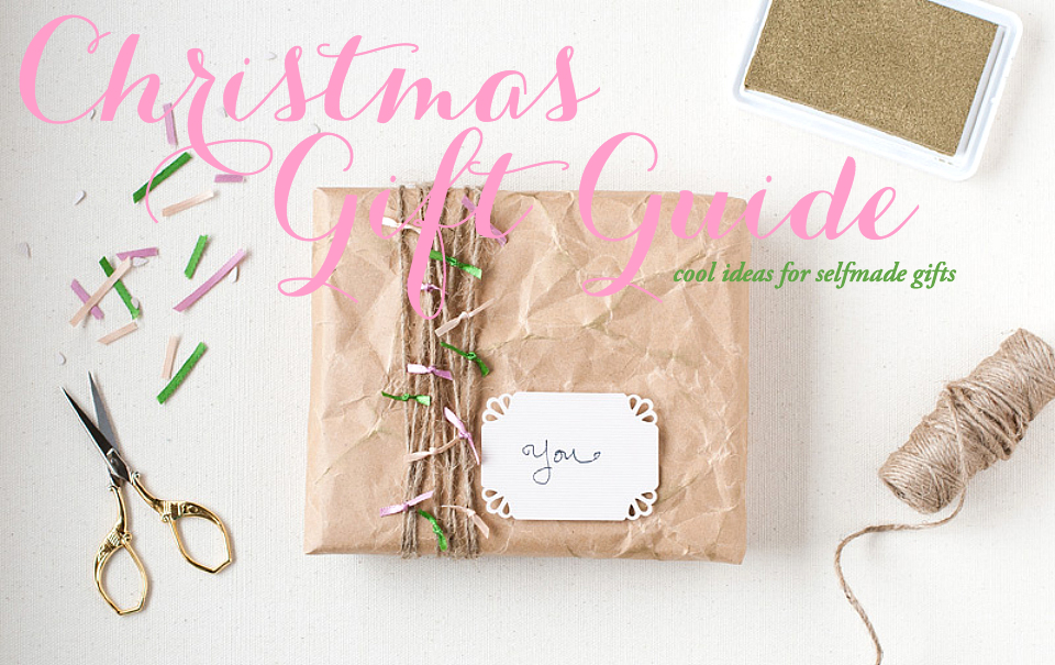 Christmas gift guide do it yourself the daily dose Do it yourself christmas gifts