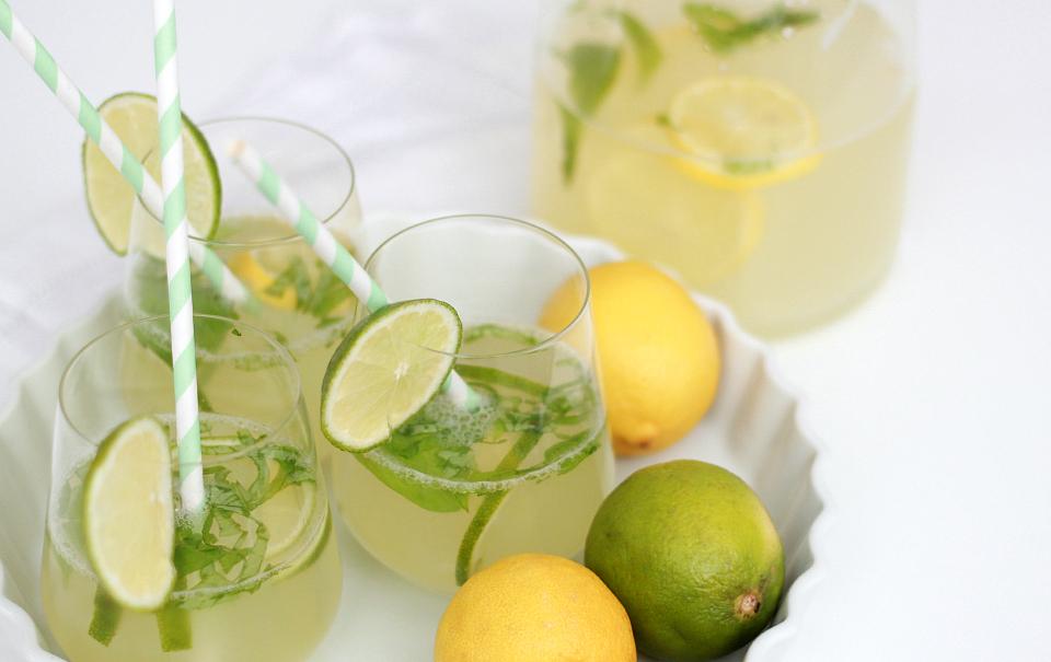 Ginger-Basil Lemonade - The Daily Dose
