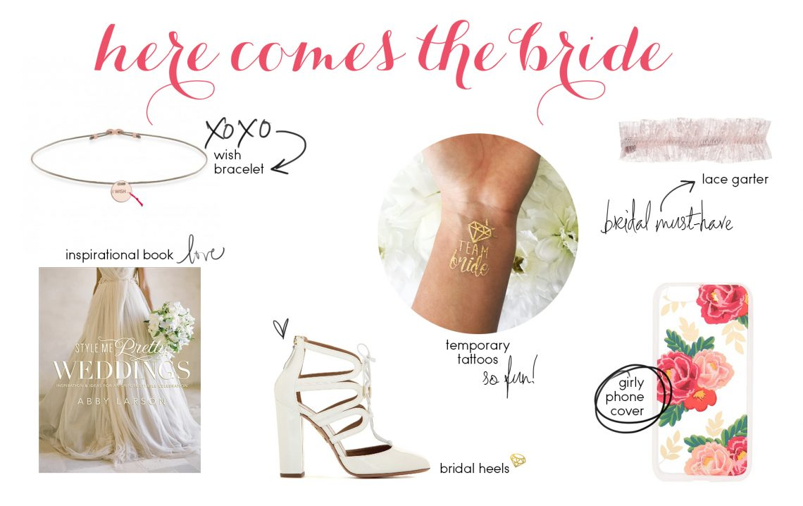 Gift Guide: For The Bride-To-Be