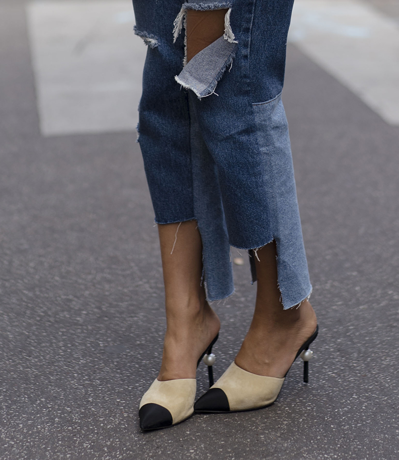 Steal Her Style: Bell Sleeves and Ripped Jeans   Love Daily Dose