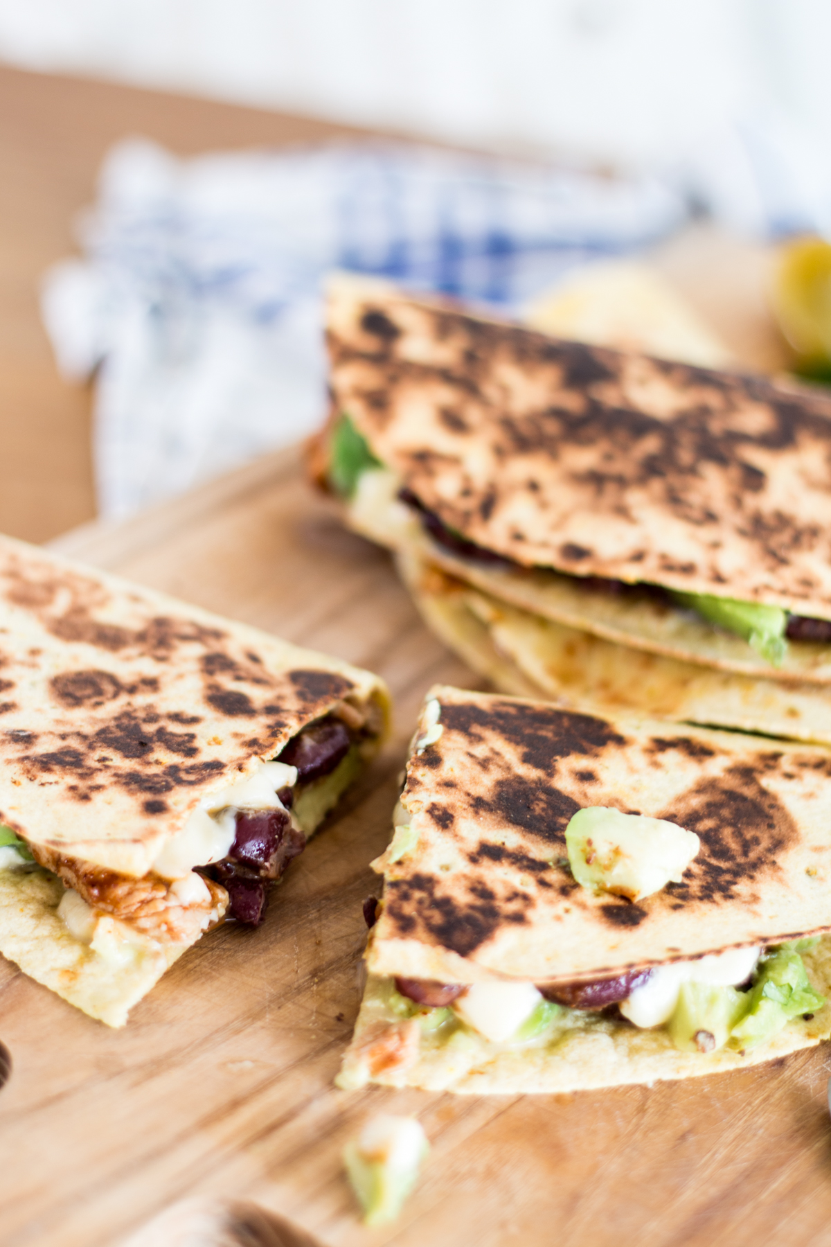 Avocado Chicken Quesadilla | The Daily Dose
