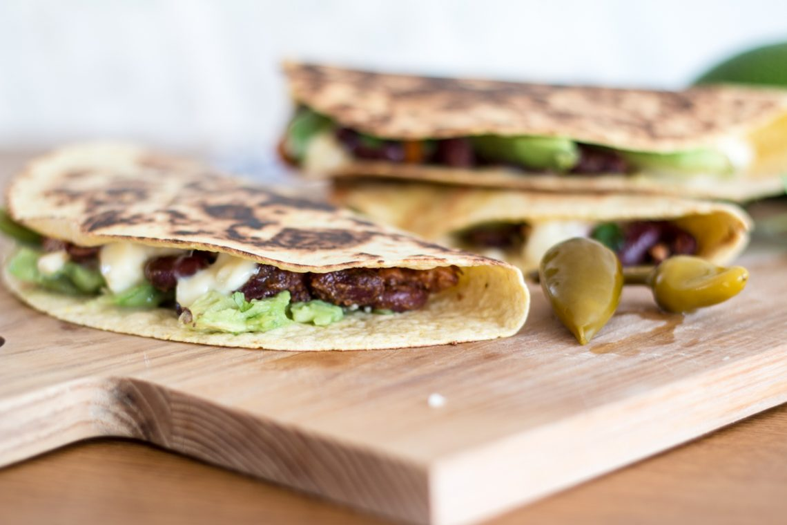 Recipe: Chicken Avocado Quesadillas