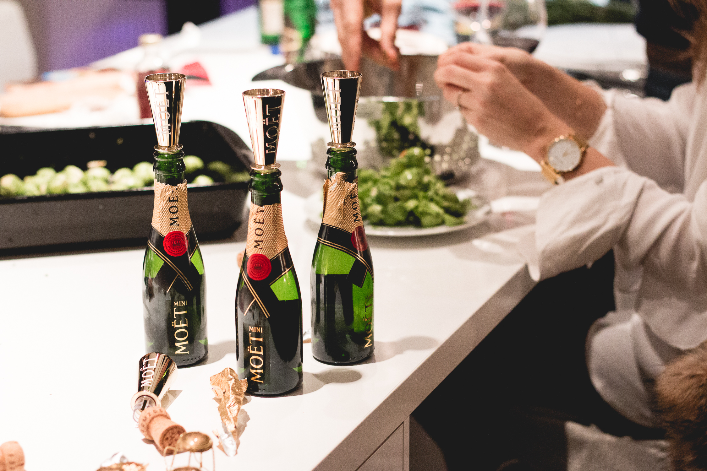 Moët & Chandon Champagne Food Pairing | Love Daily Dose