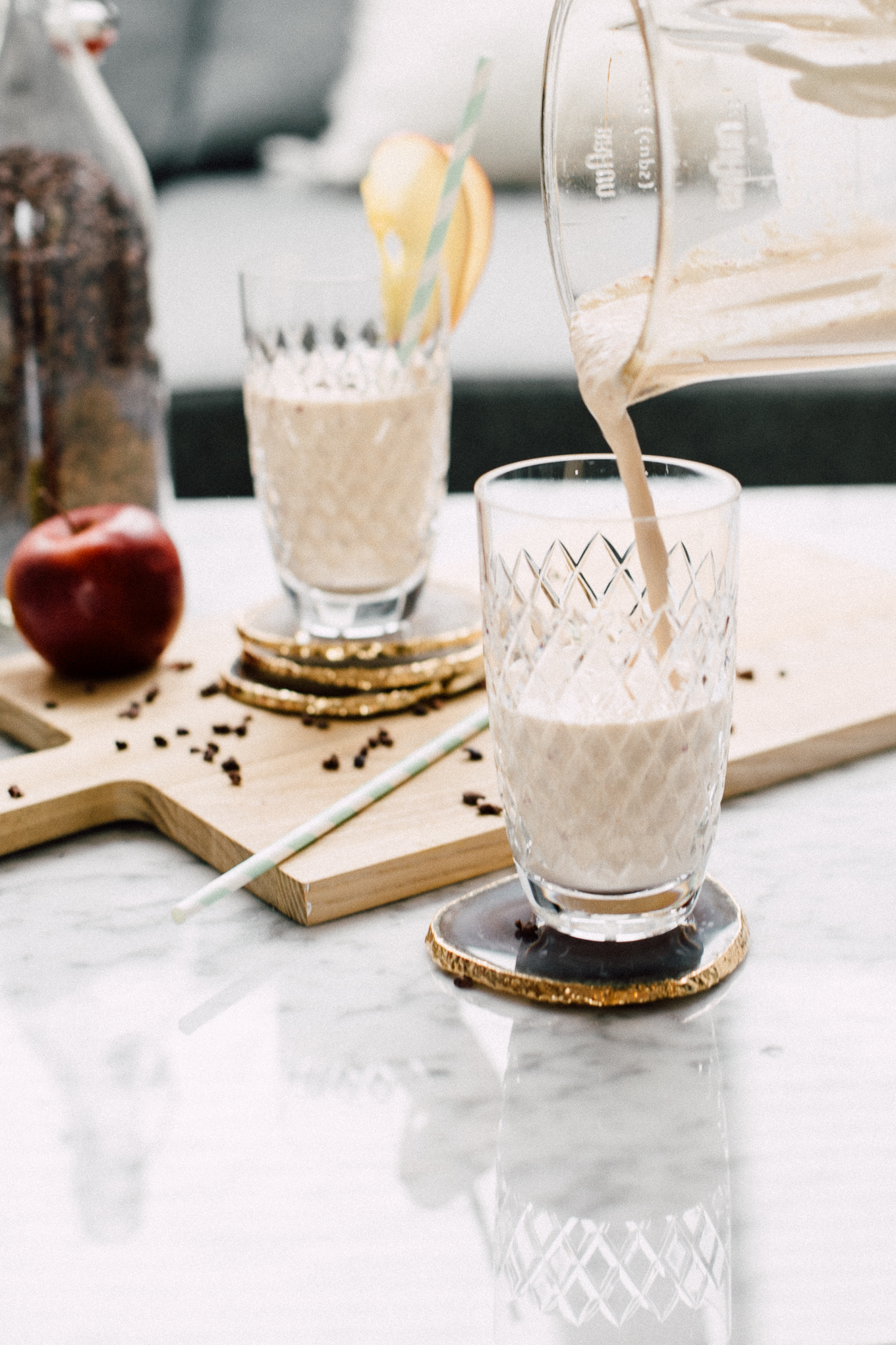 Apfelstrudel Smoothie Rezept | Love Daily Dose