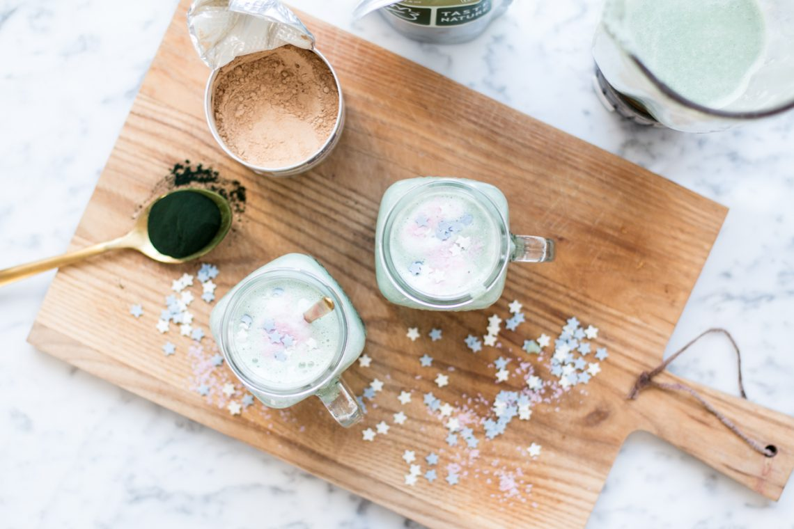 Bubbly Friday: Unicorn Latte