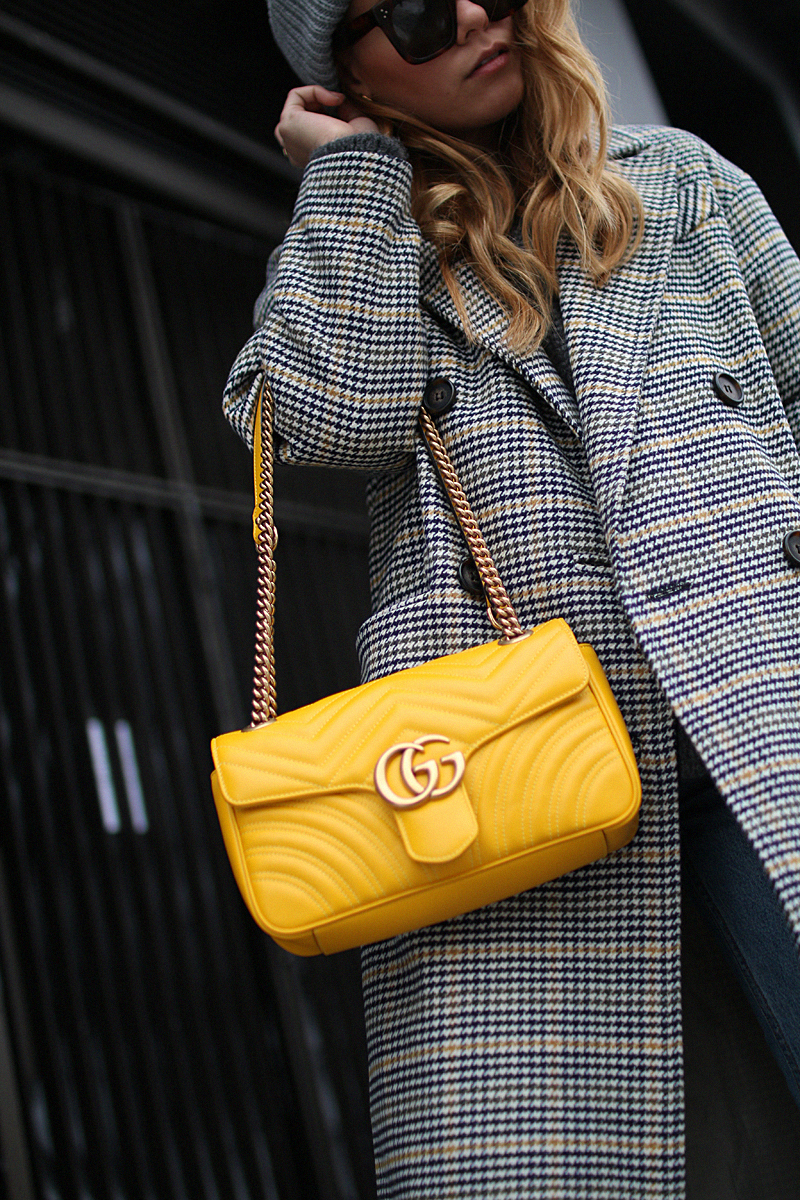 Gucci GG Marmont Tasche Gelb | Love Daily Dose