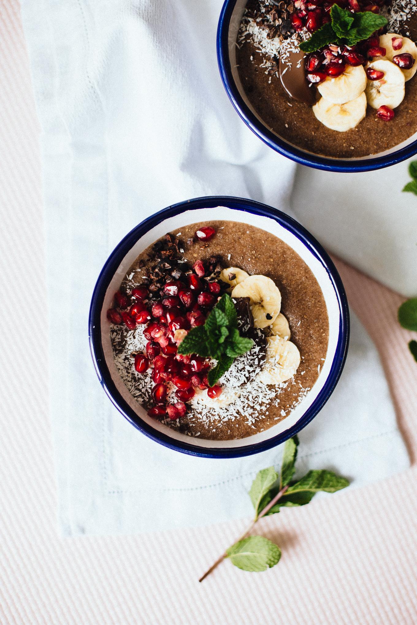 Grießbrei mit Granatapfel | Love Daily Dose