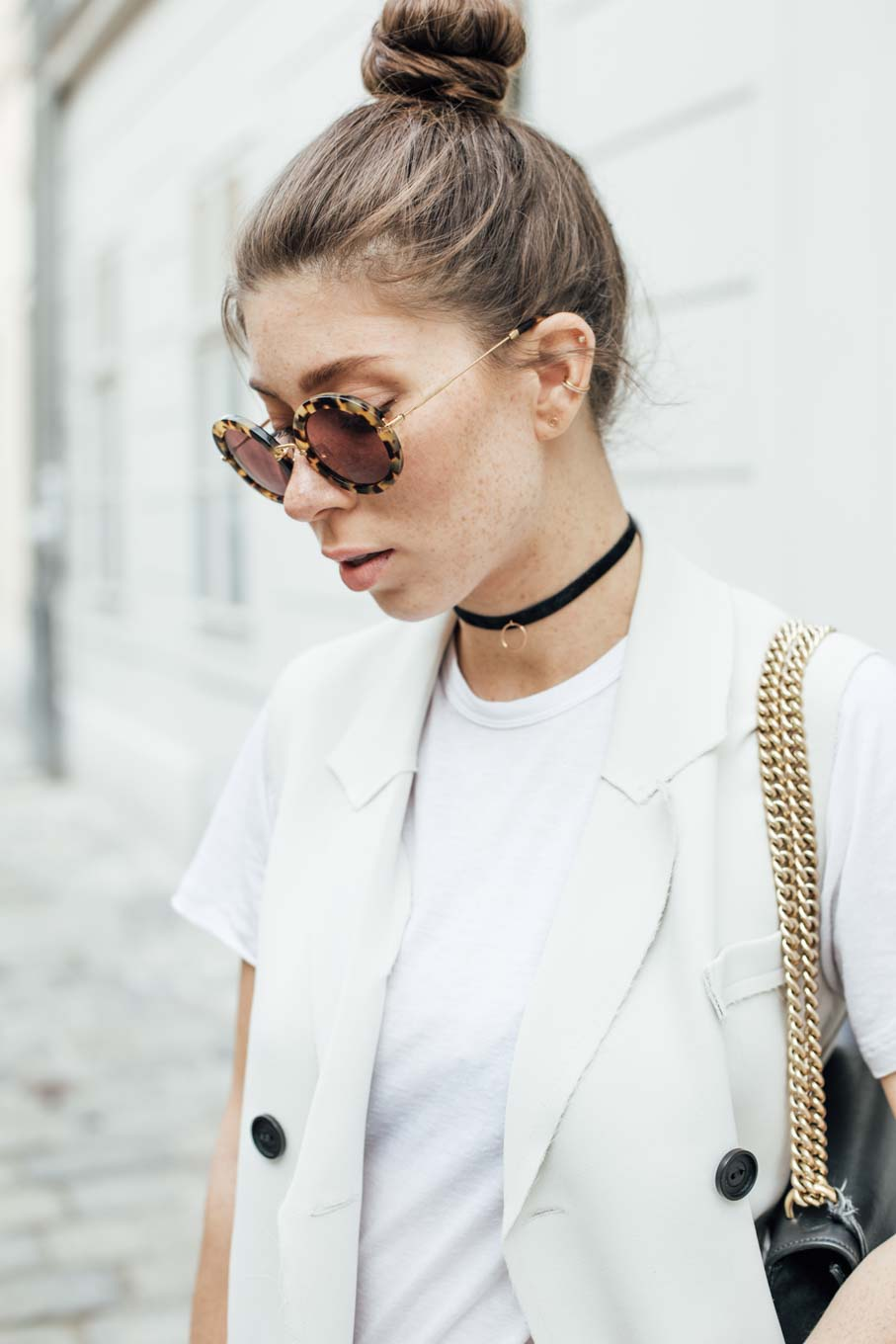 Editor's Pick: The Basic White Tee Styled in 3 Ways   #lovedailydose