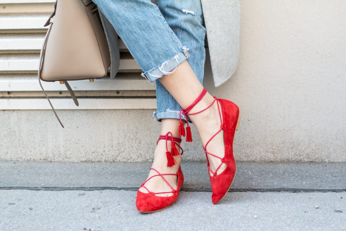 Editor's Pick: Pointy Lace-up Flats