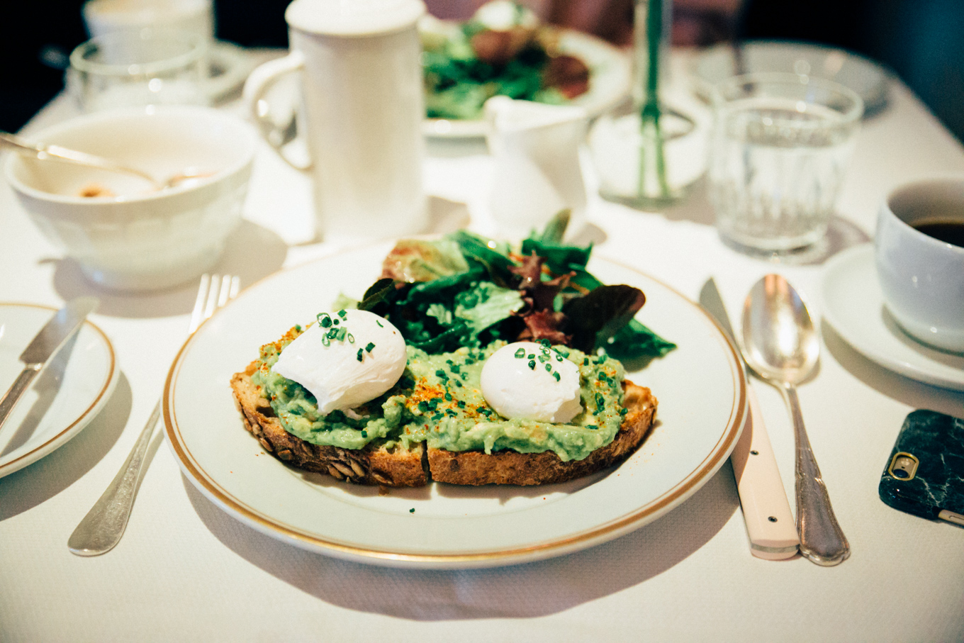 New York Food Diary - Lunch & Breakfast Places | The Daily Dose