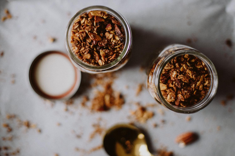 Coffee Gingerbread Granola Recipe | Love Daily Dose