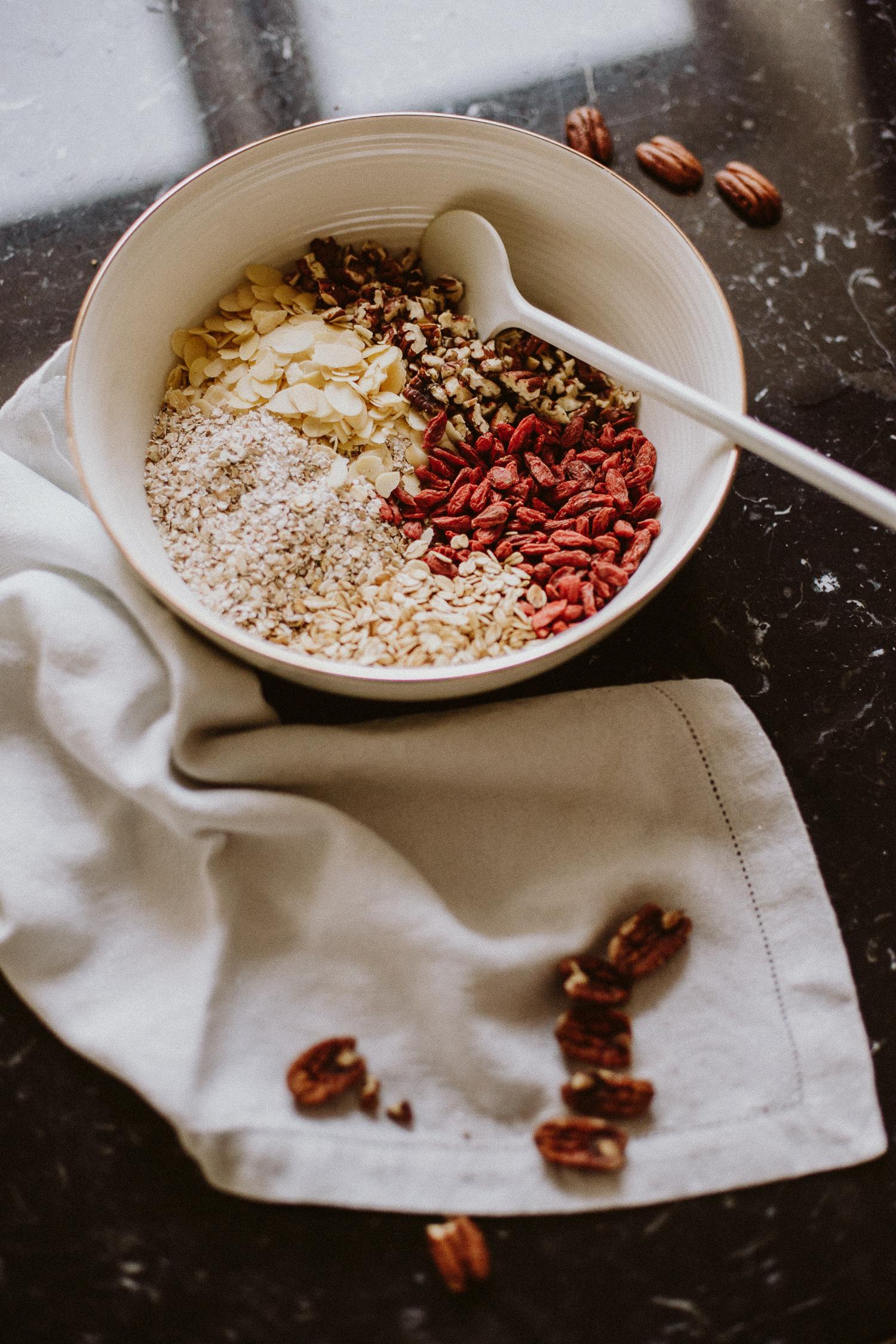 Coffee Gingerbread Granola Recipe   Love Daily Dose