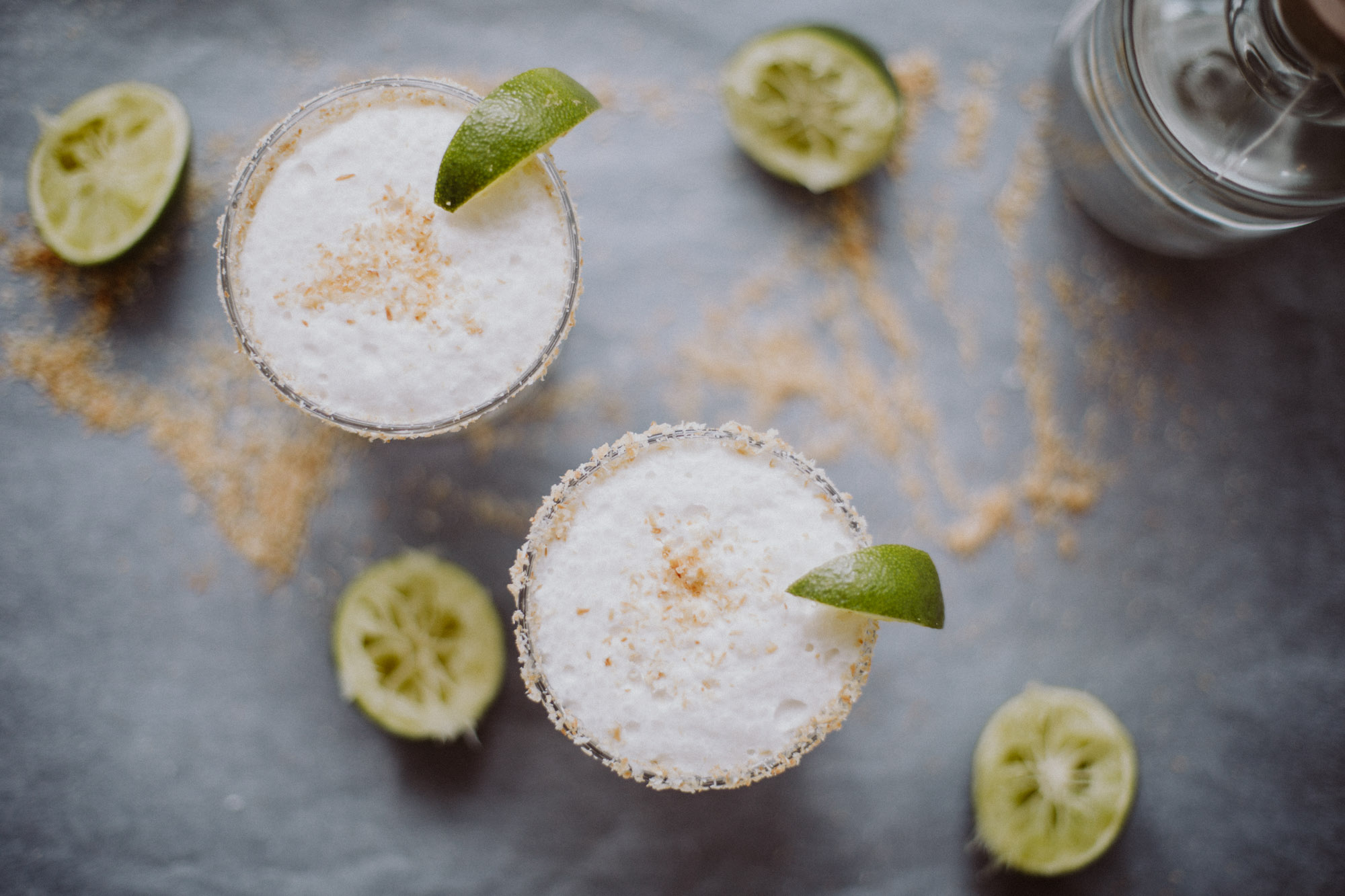 Toasted Coconut Margarita | The Daily Dose