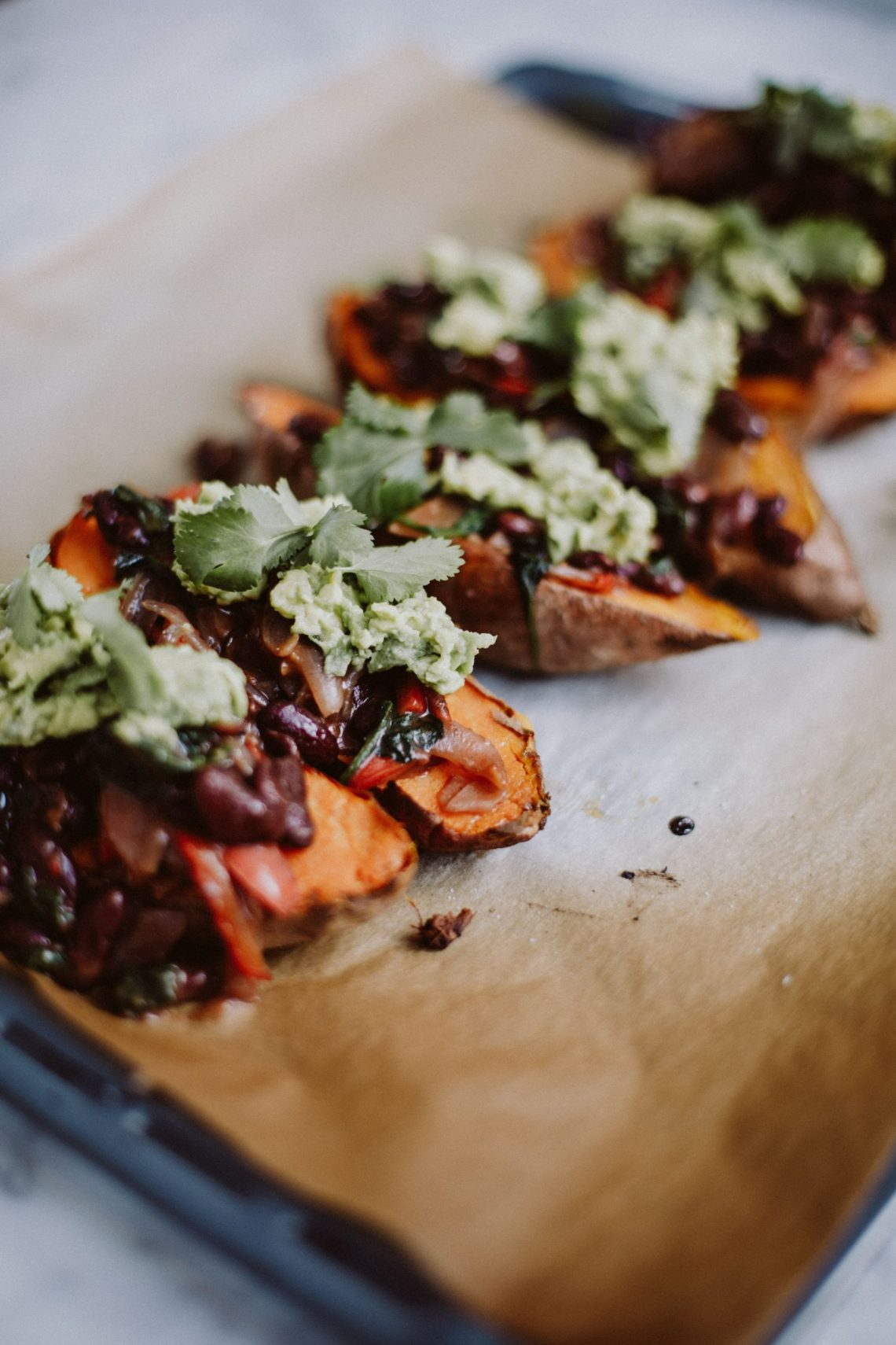 Recipe: Mexican Stuffed Sweet Potatos