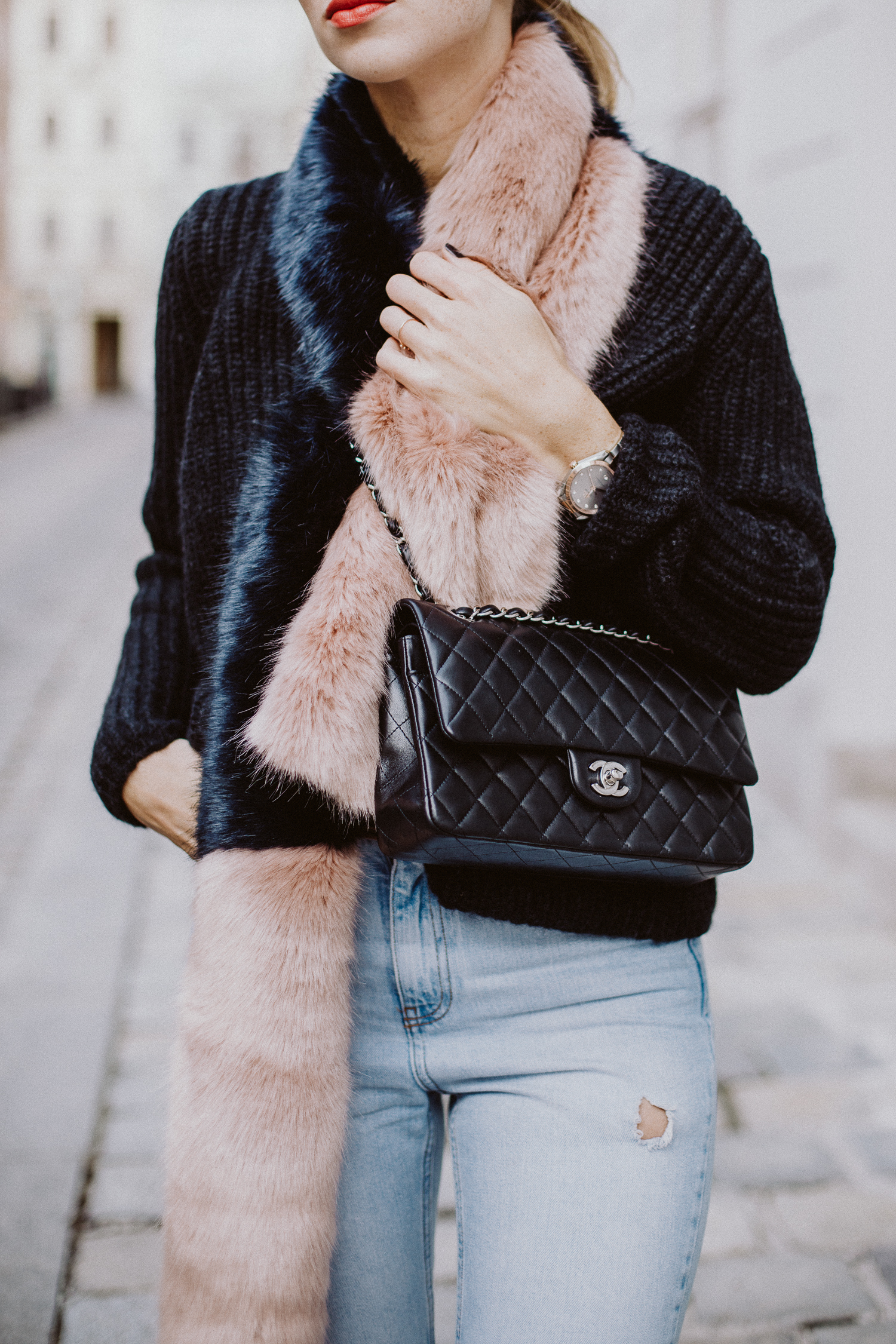 Halogen Faux Fur Stole | Love Daily Dose