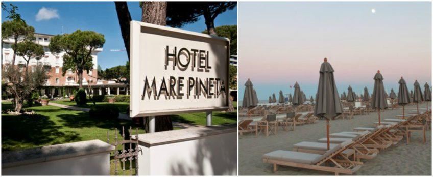 The Daily Dose 5 beach hotels Hotel Mare Pineta Milano Marittima