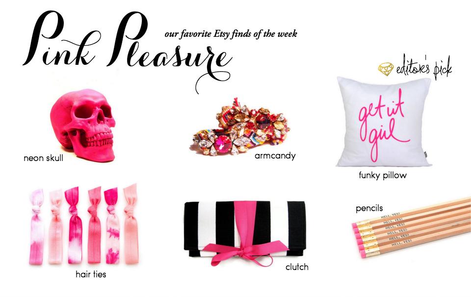 Etsy Picks of the Week: Pink Pleasure