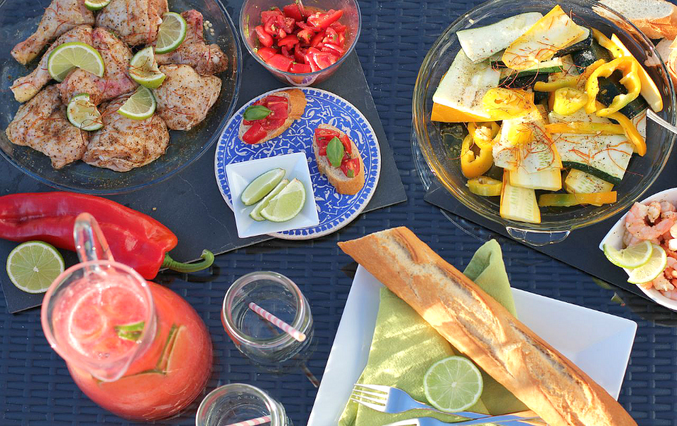 Cajun Barbeque: A Savory & Healthy Summer Dinner