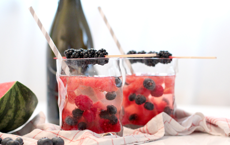 Berry Blast With Martini Bianco