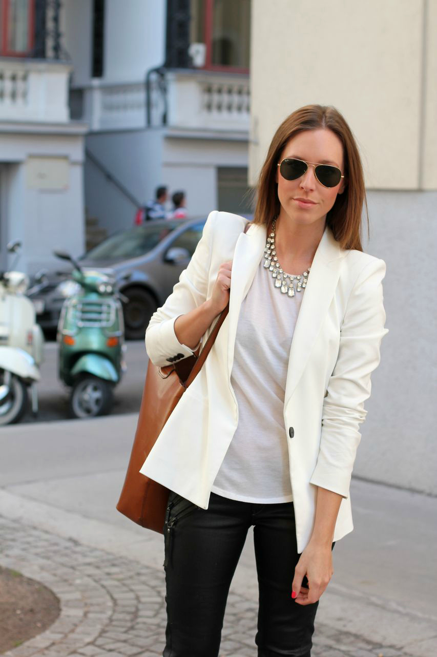 Editors' Pick: White Blazers for Summer