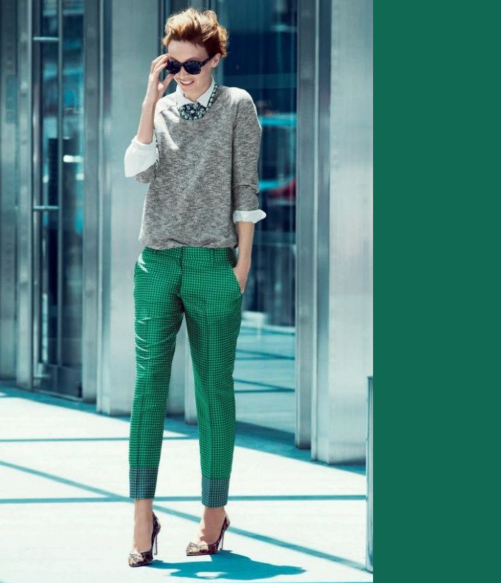 Fall Fashion: Jewel Tones - emerald green