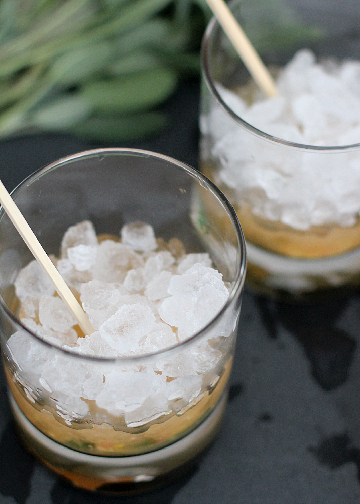 Modern Moscow Mule with Citrus & Sage | The Daily Dose