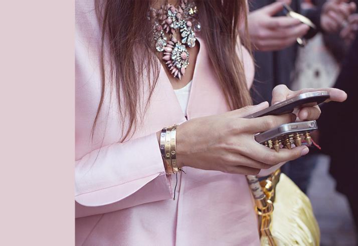 Fall Fashion: Jewel Tones - pink diamond