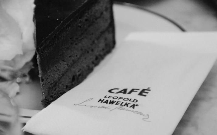 Sacher Torte - Café Hawelka, Vienna