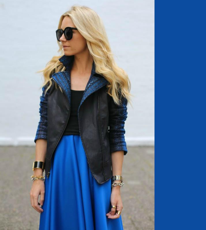 Fall Fashion: Jewel Tones - sapphire blue