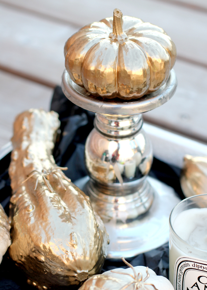 DIY: Glamorous Pumpkins | The Daily Dose