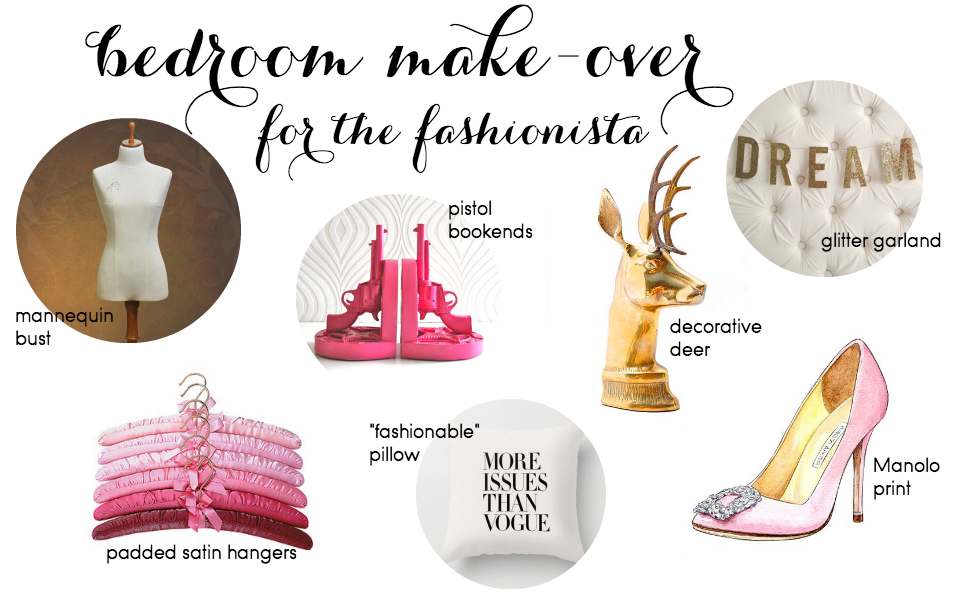 Etsy Picks Of The Week: Fashionista Bedroom