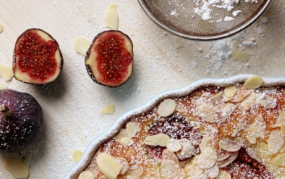 Fluffy Fig Breakfast Cake