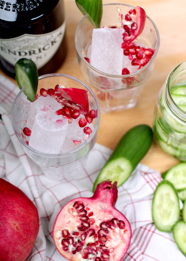 Pom-Bomb: Pomegranate Cocktail | The Daily Dose