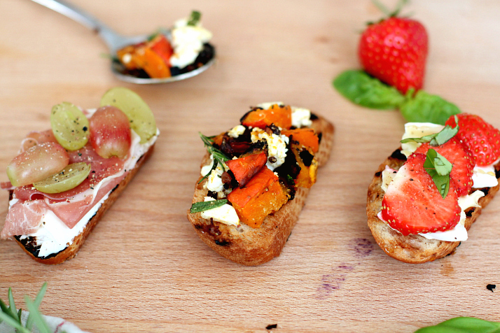 Crostini 3 Ways | The Daily Dose