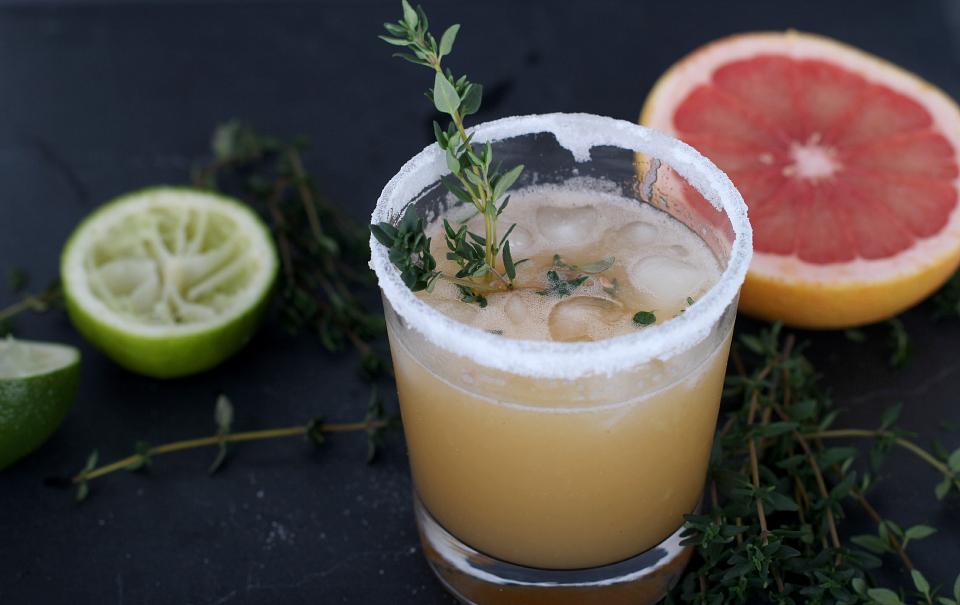 Fresco Mocktail With Thyme