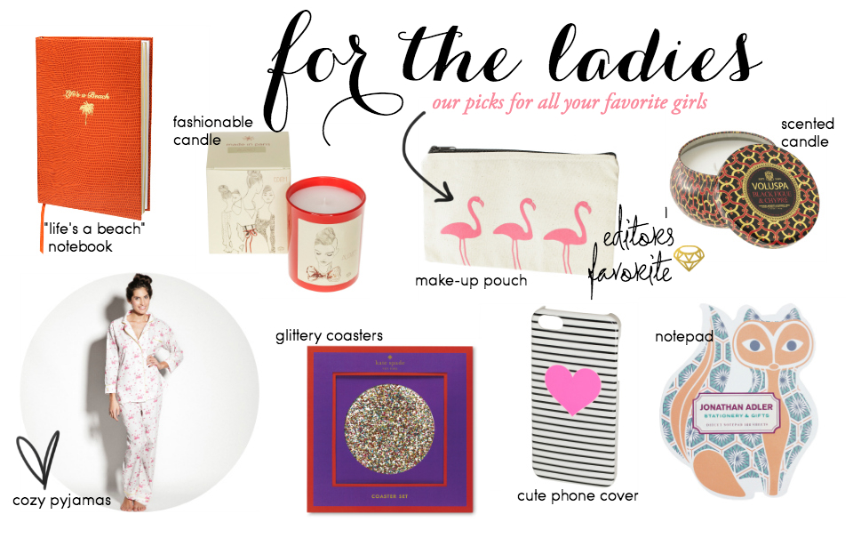Christmas Gift Guide: For The Girls