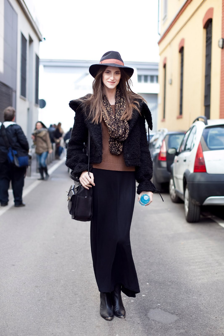 Maxi Skirts For Fall And Winter | The Daily Dose