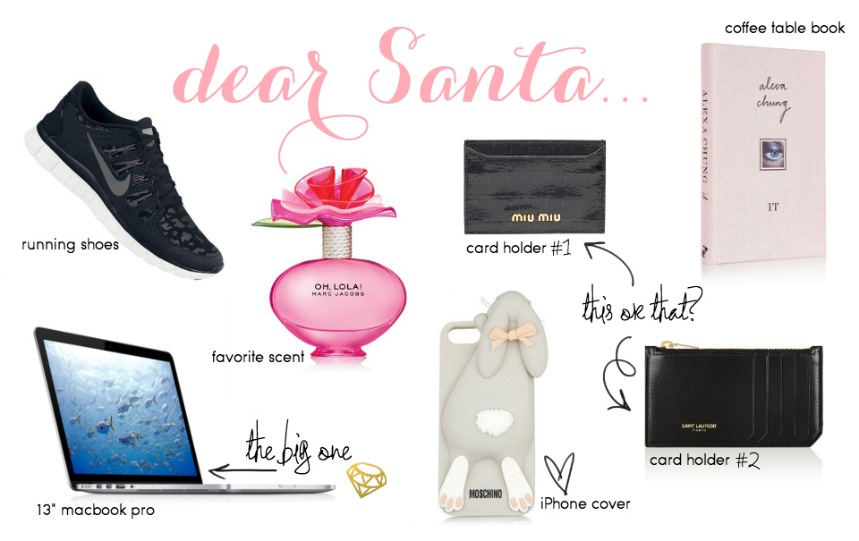 Our Christmas Wishlist: Vicky's Favorites