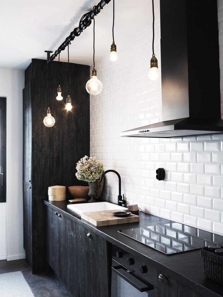 Black & White Kitchen | The Daily Dose