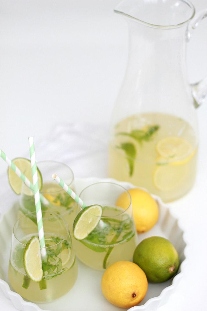 Drink Recipe: Ginger Basil Lemonade | The Daily Dose