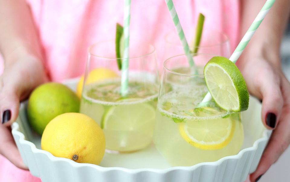 Ginger-Basil Lemonade