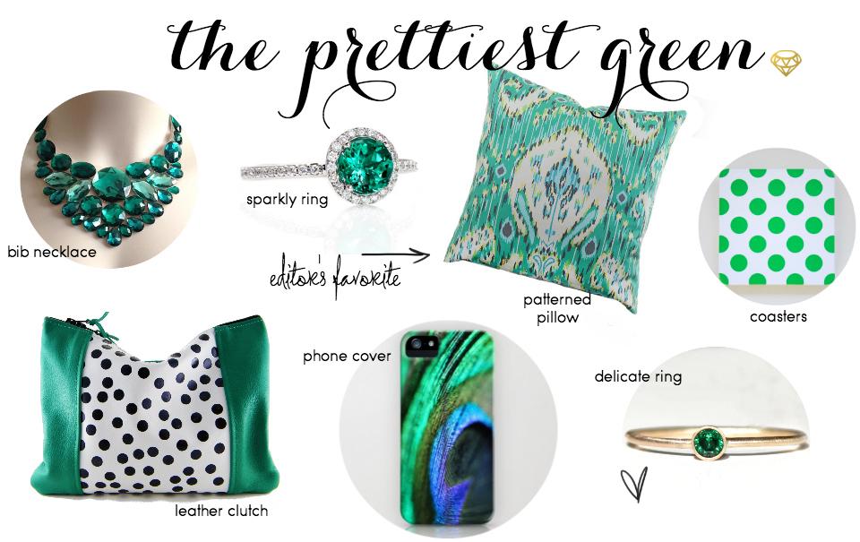 Etsy Picks Of The Week: Emerald, Baby!