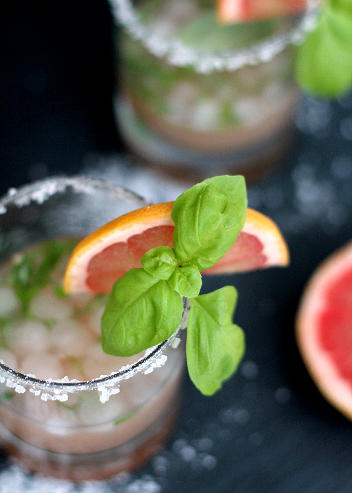 Cocktail Recipe: Salty Basil Dog   The Daily Dose