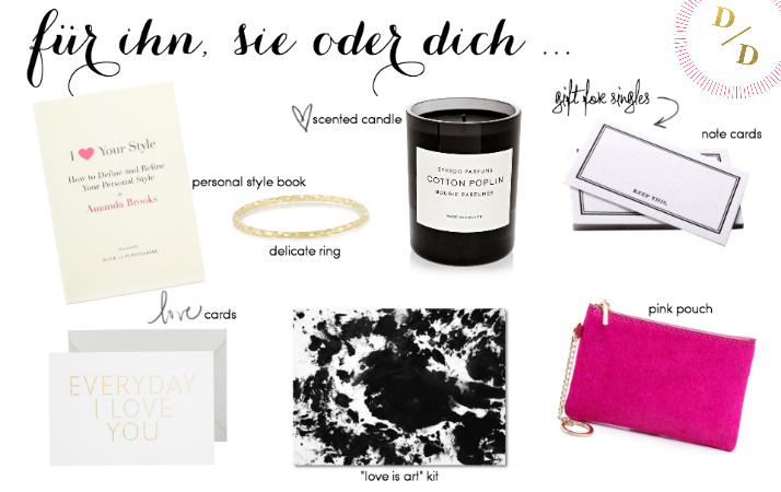 Gift Guide: Valentinstag
