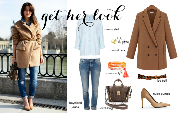 Steal Her Style: Camel Coat